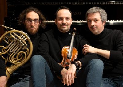 Opter Ensemble © Vittorio Battellini - Si ringrazia Fazioli Pianoforti per la collaborazione